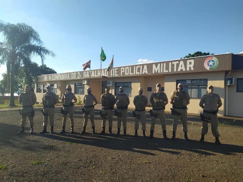Xanxerê recebe reforço policial para fiscalização e enfrentamento da Covid-19