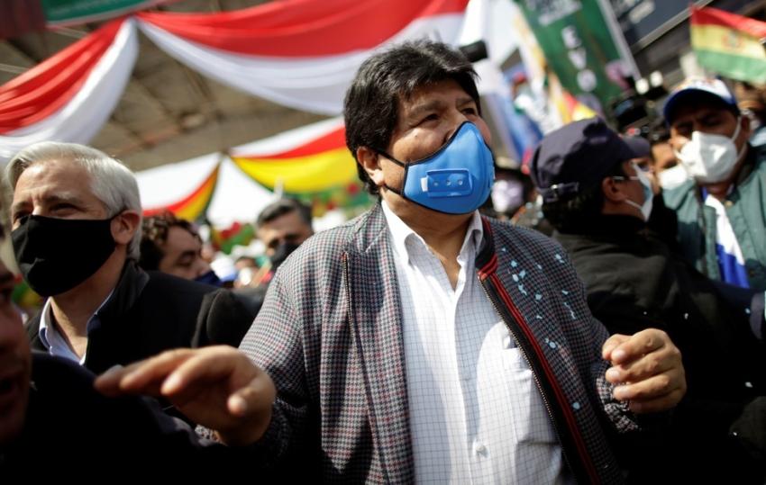 Ex-presidente da Bolívia, Evo Morales é diagnosticado com coronavírus