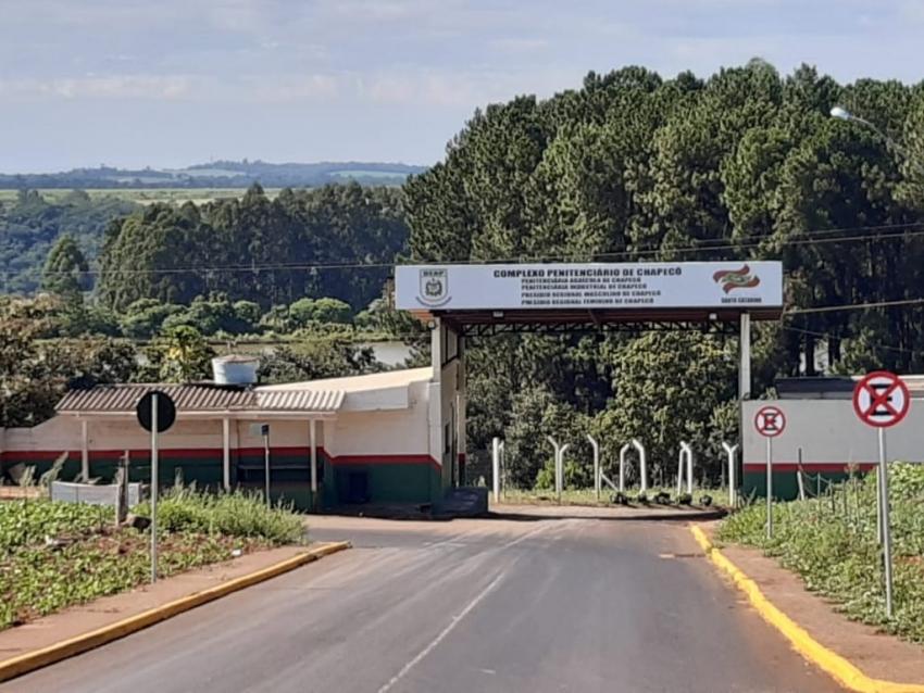 Nove detentos não retornaram ao complexo penitenciário de Chapecó após saída temporária de fim de ano