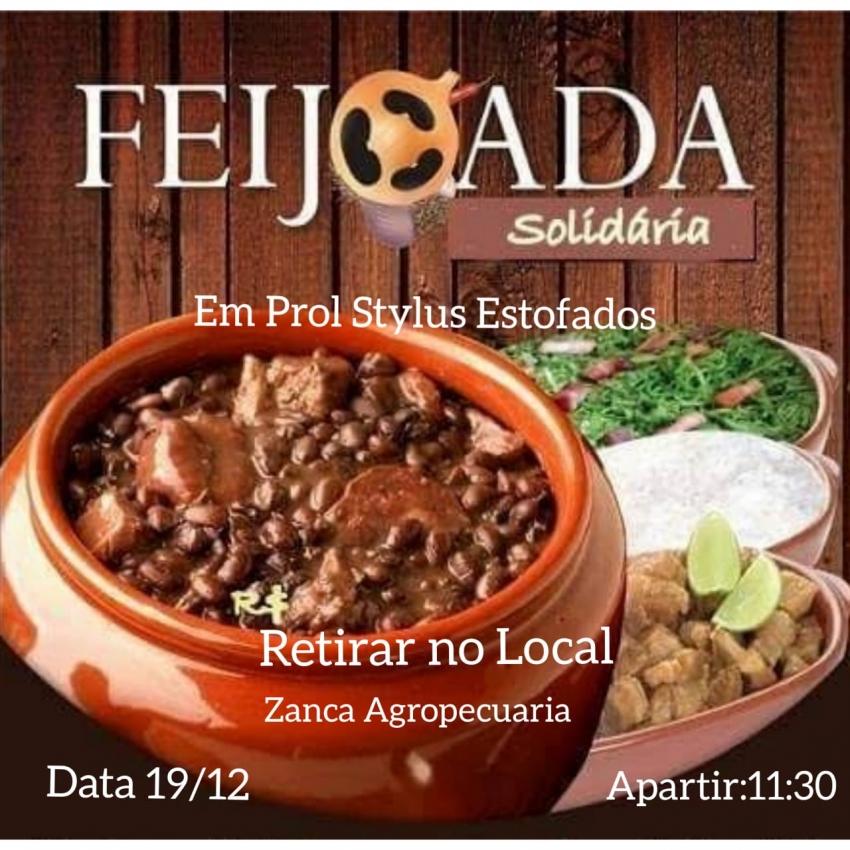 Feijoada solidária será realizada em São Domingos em prol de empresa
