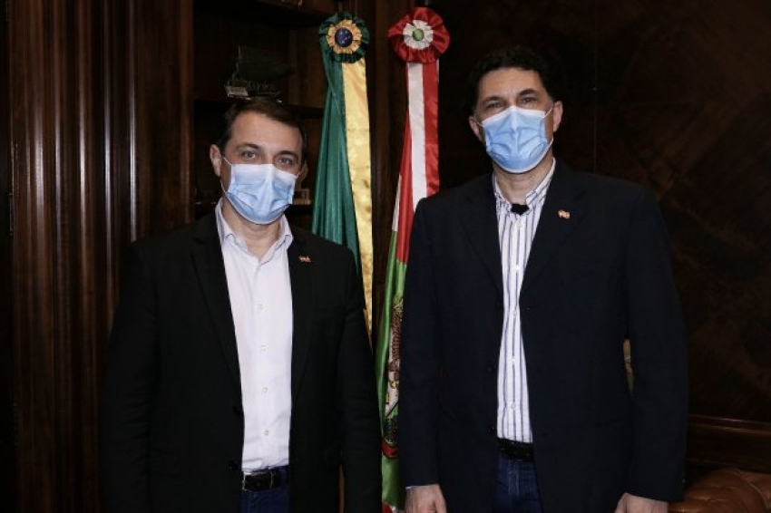 Governador anuncia Aldo Baptista Neto como novo chefe da Defesa Civil