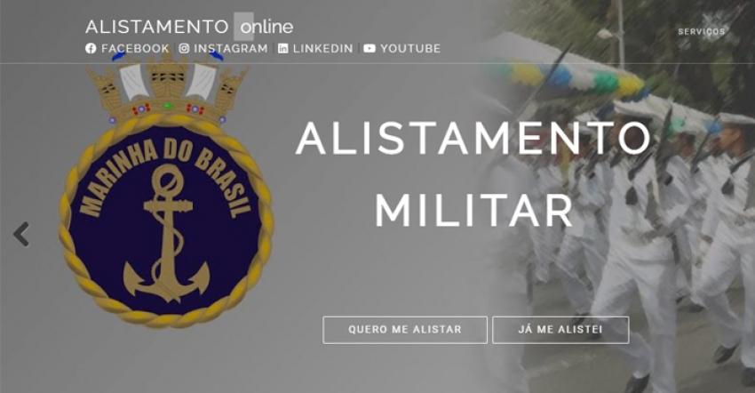 Abertas as inscrições para alistamento militar obrigatório