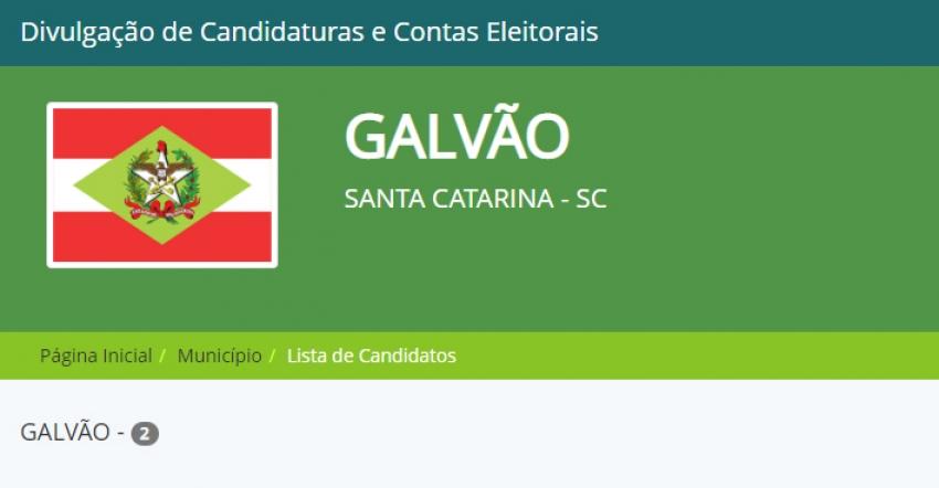 Galvão confirma dois candidatos a prefeito