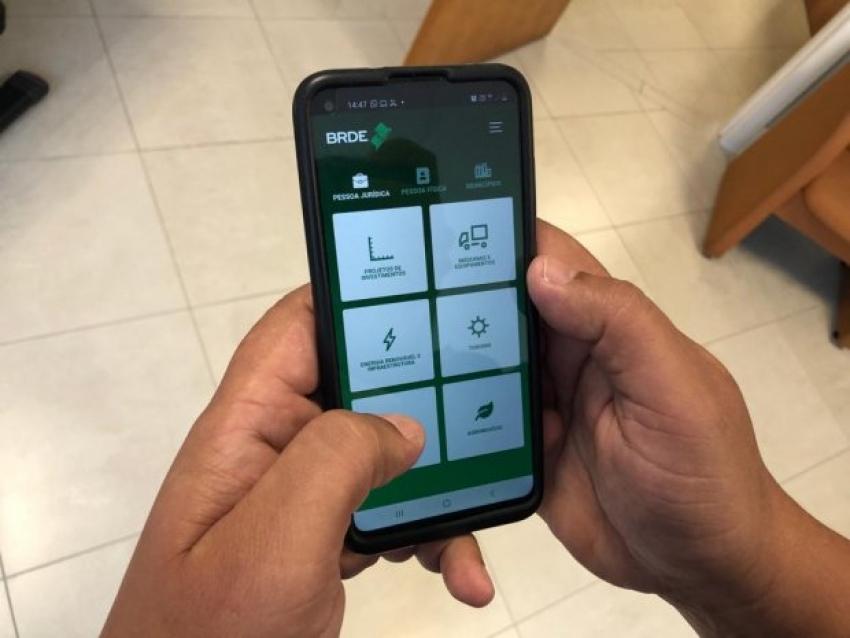 BRDE lança aplicativo para facilitar contato com os clientes