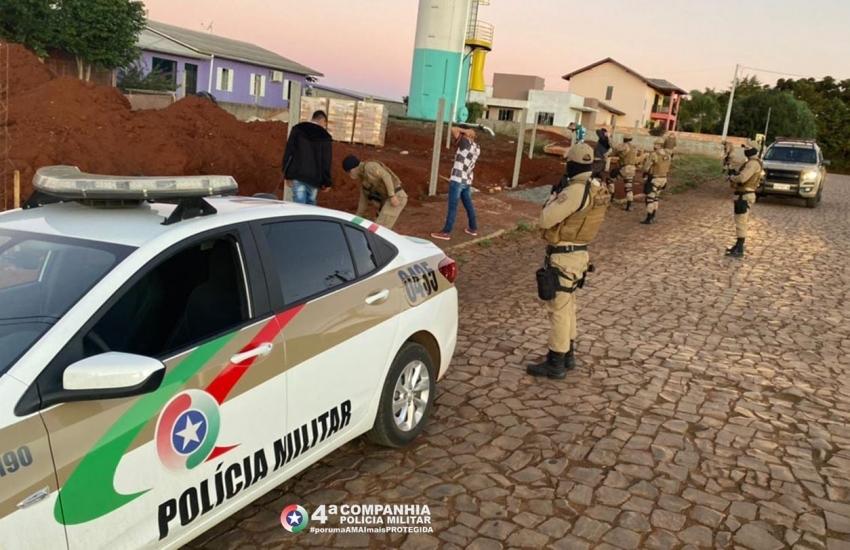 Polícia Militar realiza Operação em São Domingos