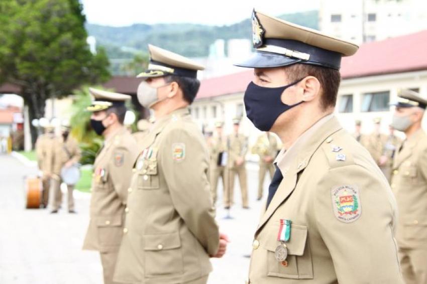 Polícia Militar de Santa Catarina completa 186 anos