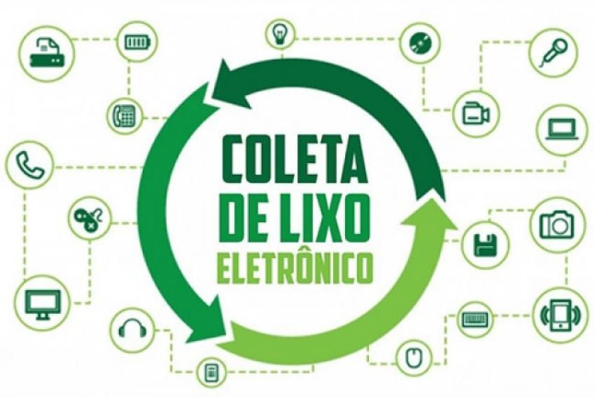 Recolhimento de lixo eletrônico é hoje em São Domingos