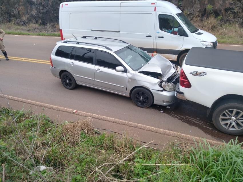 PMRv atende acidente de trânsito em Jupiá