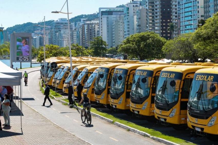 Transporte escolar: Governo do Estado repassa R$ 12,2 milhões aos municípios catarinenses