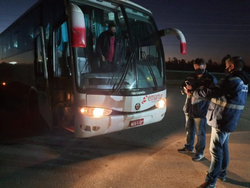 Aresc intensifica fiscalizações de medidas preventivas contra a Covid-19 no transporte intermunicipal