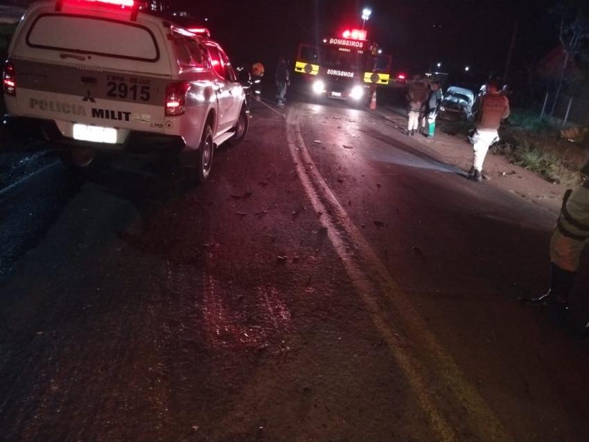 Homem é preso por embriaguez ao volante após se envolver em acidente em Abelardo Luz