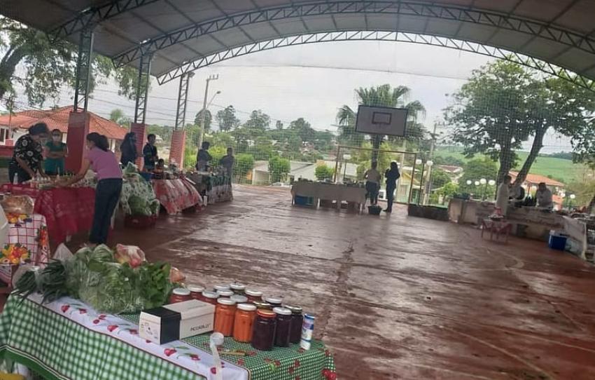 Mulheres em Campo realizam mais uma edição da feira em São Domingos