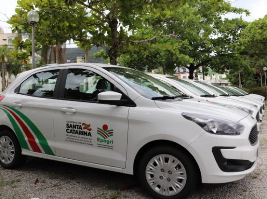Epagri recebe 70 novos veículos para apoiar atividades da extensão rural e da pesquisa agropecuária