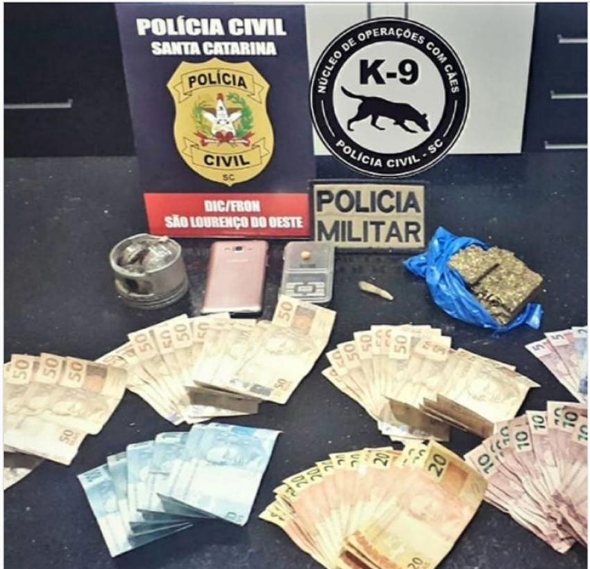 Polícia Civil prende mulher em flagrante por tráfico de drogas