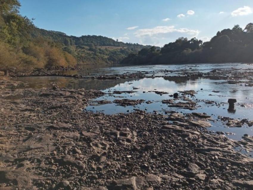 Seca avança no Oeste e Meio-Oeste catarinense e boletim alerta para uso racional de água