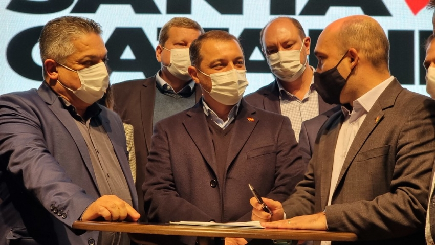 Governador libera R$ 62 milhões para investimentos na cidade de Chapecó